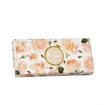 Kit Sabonete Rose Blossom Fiorentino - Sabonete Perfumado em Barra - 3x 125g - Fiorentino