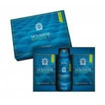 Kit Senador Sport com 2 Sabonetes 130g + Body Spray Aerosol - SENADOR