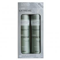 Kit Shampoo + Condicionador Charis Extreme Liss - Charis