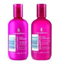 Kit Shampoo + Condicionador Lee Stafford Pocker Straight - Lee Stafford