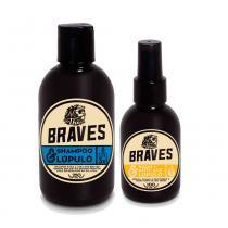 Kit Shampoo e Balm Anti-Idade  Lúpulo The Braves - The Braves