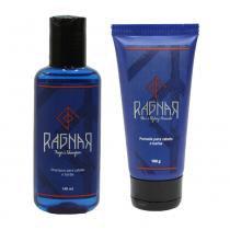 Kit Shampoo e Pomada para Cabelo e Barba Ragnar - Ragnar