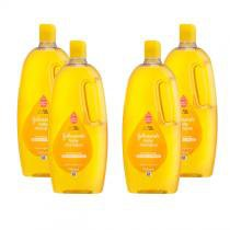 Kit Shampoo Johnsons Baby Regular 750mL com 4 Unidades -