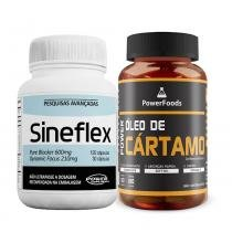 Kit Sineflex 150 Cáps - Power Supplements + Power Óleo de Cártamo 120 Cáps - PowerFoods - PowerFoods