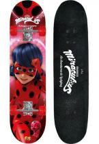 Kit Skate Ladybug Com Acessórios de Segurança - Barão Toys -