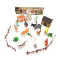 Kit Super Animais da Fazenda Brinquedos Pica Pau -