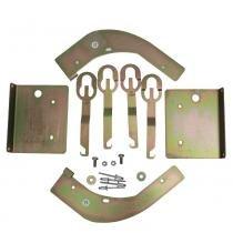 Kit suporte para trava elétrica ford focus 4 portas - Luferma