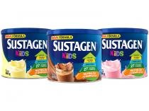 Kit Sustagen Kids Baunilha + Chocolate + Morango - 380g