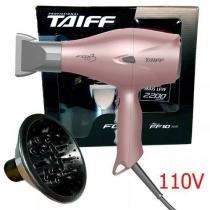 43bfc0107 Kit taiff secador profissional fox ion 3 rose 2200w - 127v + difusor curves  -