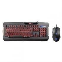 Kit Teclado E Mouse Gamer Sports Kb-Ccm-Plblpb-01 Thermaltake -