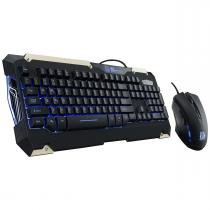 Kit Teclado e Mouse Gamer Thermaltake TT ESPORTS Commander KB-CMC-PLBLPB-01 -