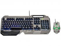 Kit Teclado e Mouse Gamer - Warrior Ragnar Keon