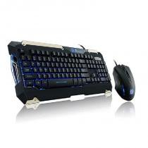 Kit teclado e mouse thermaltake commander abnt2 - kb-cmc-plblpb-01 - Thermaltake