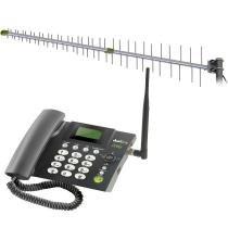 Kit Telefone Celular Fixo PROKD-6000 Preto - Proeletronic -