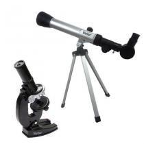 Kit Telescopio e Microscopio Infantil - Vivitar