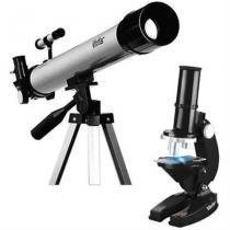 Kit Telescopio Microscopio Infantil - Vivitar -