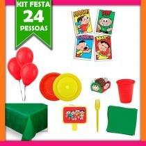 Kit Turma da Mônica 24 Pessoas Econômico - Festabox