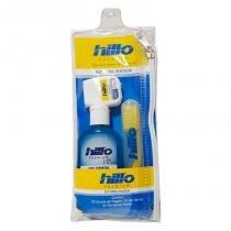 94d2298d1 Kit Viagem Hillo Escova Dental + Gel Dental + Fio Dental -