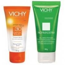 Kit vichy capsol fps 30 50g+ normaderm gel 60g -