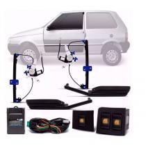 Kit vidro elétrico sensorizado uno quadrado 2 portas 2004 a 2013 - Dial
