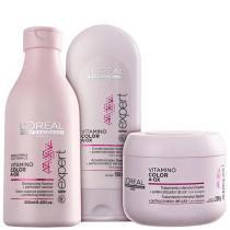 Kit Vitamino Color A.OX LOréal Professionnel Shampoo 250ml, Condicionador 150ml e Máscara 200g - LOréal Professionnel