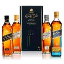 Kit Whisky Johnnie Walker Collection x4 200ml - Johnnie walker  sons