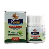 Koral 30ml Combate Carrapatos e Pulgas do Ambiente - Rawell -