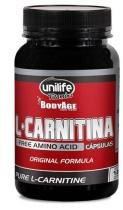 L-Carnitina Pura 570mg - 120 Capsulas - Unilife