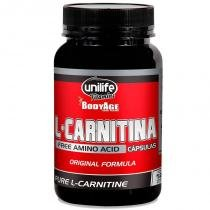 L Carnitina Pura 570mg Unilife 120 cápsulas -