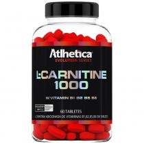 L-Carnitine 1000 - 60 Tabletes - Atlhetica Evolution Series - Atlhetica