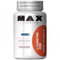 L-Carnitine 2000 120 Cápsulas - Max Titanium - Natural - Max Titanium