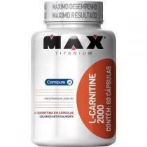L-Carnitine 2000 - 60 cápsulas - Max Titanium -