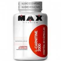 L-Carnitine 2000 (60 Cápsulas) - Max titanium