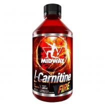 L-Carnitine Fire Tangerina Midway - Emagrecedor - 480ml - Midway