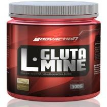 L - Glutamine 300g Bodyaction - Glutamina - Uva Verde - Body action