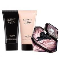 La Nuit Trésor Leau de Parfum Lancôme - Feminino - Eau de Parfum - Perfume + Gel de banho + Loção Corporal - Lancôme