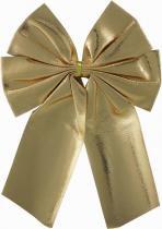 Laço natal lame dourado 17 x 22 cm - Yangzi