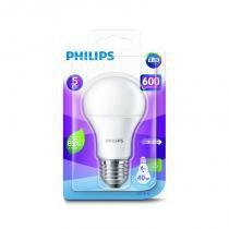 Lâmpada bulbo led 6,0 w e27 bivolt philips com 6 unidades - Philips