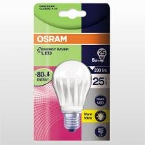 Lâmpada LED Classic A Parathom Osram E27 6W 240V Day Light Branco - OSRAM