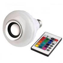 Lâmpada Multicolorido Led Com Caixa De Som Bluetooth 3w - Mega page