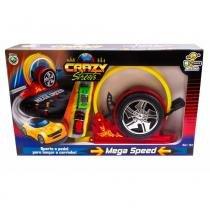 Lança Carros Mega Speed 2 Carrinhos - Bs Toys RV-454 -