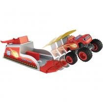 Lançador Hot Wheels Blaze Monster - Mattel -