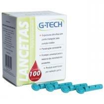 Lancetas p/ Lancetador G-Tech com 100 unidades - Accumed