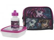 Lancheira Infantil Escolar Monster High Sestini