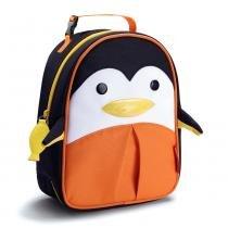 Lancheira Zoo Pinguim Style Preto/Laranja - Skip Hop - Skip Hop