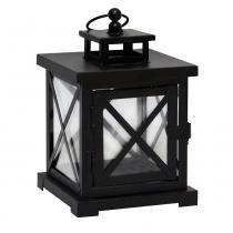 Lanterna Decorativa - 21cm - Preta - Evolux