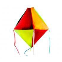 Lanterna Decorativa - Balão De Nylon Pequeno - Real Seda