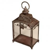 Lanterna Decorativa de Metal Envelhecido Hebei - Maria Pia Casa