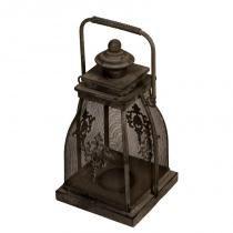 Lanterna Decorativa de Metal Envelhecido Manipur - Maria Pia Casa