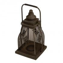 Lanterna Decorativa de Metal Nagar - Maria Pia Casa